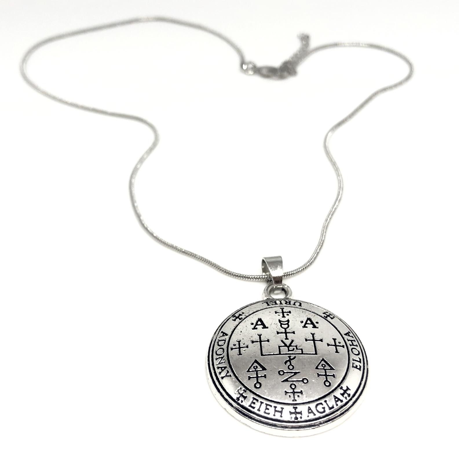 Archangel Uriel Necklace (Power & Success)