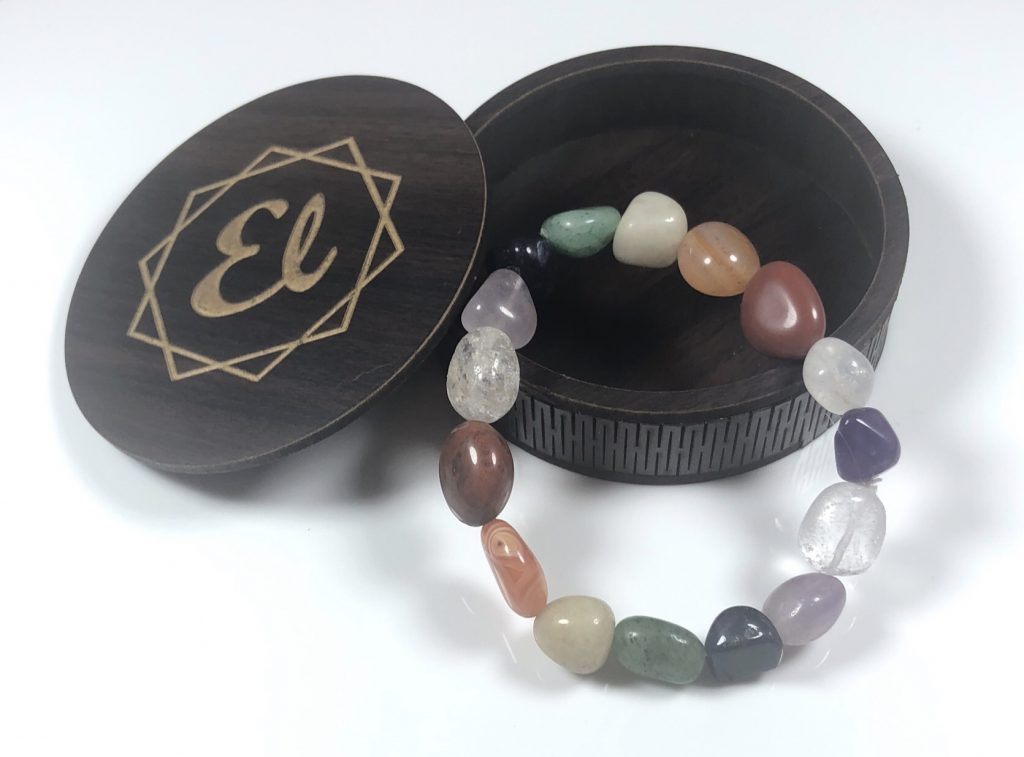 mix stone bracelet
