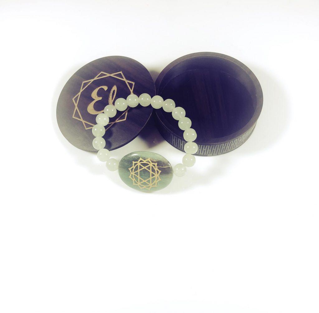 heart chakra stone
