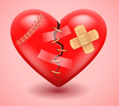 Why is it hard to recover from a painful breakup or loss?